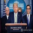 트럼프,검사,참모,백악관,코로나19,미국인,미국
