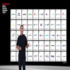 기업,대표,브랜드,평가,가치,인터브랜드,경영,트렌드