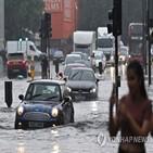 산불,지역,런던,피해,침수,대형,진화,요청