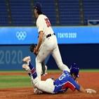 미국,한국,타자,안타,야구