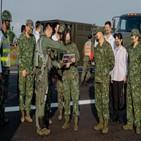 대만,중국,군용기,총통,전날,사진