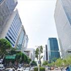 서울,오피스빌딩,가격,부동산,상업,가장,강남,상승