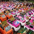 택시,관광객,재배,태국