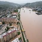 폭우,중국