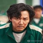 게임,오징어,이정재,사람,한국