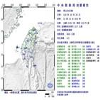지진,대만,지역,규모,발생