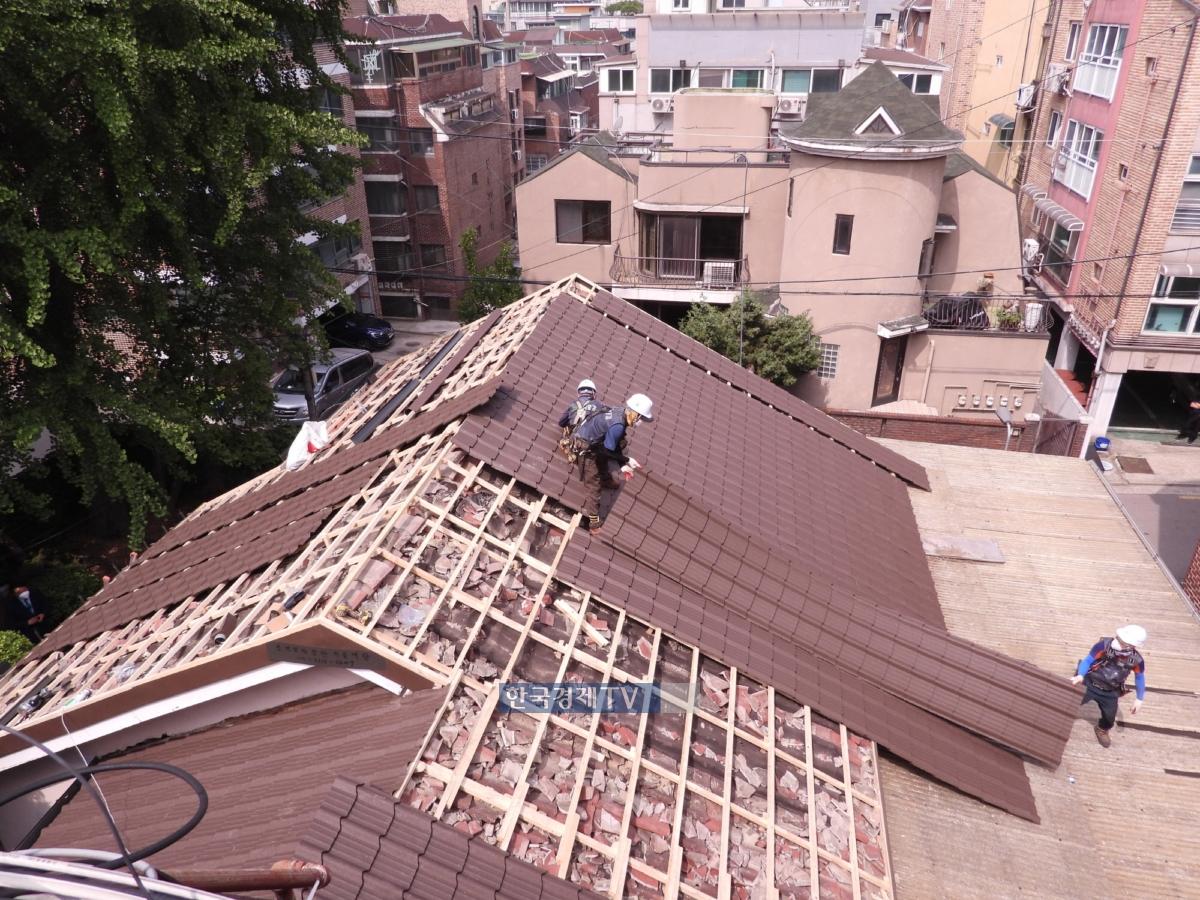 국가유공자 주거여건개선사업 공사현장. 사진제공=대한주택건설협회.