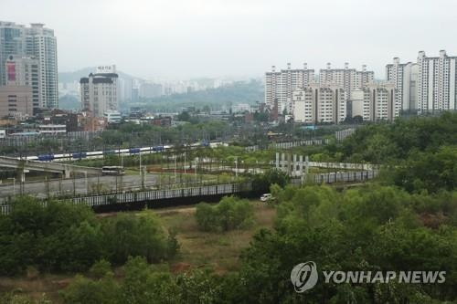 용산 정비창 부지 (사진=연합뉴스)