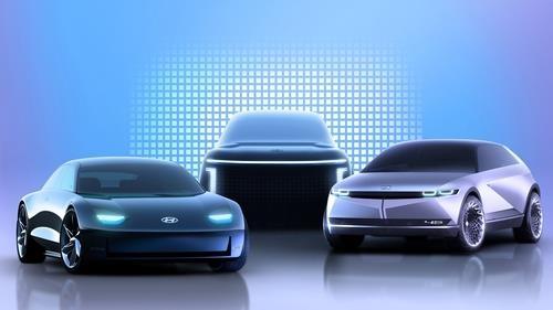 아이오닉 브랜드 제품 라인업 렌더링 이미지 (사진=현대차)