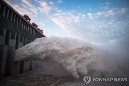 중국 양쯔강, 황허 홍수 (사진=연합뉴스)
