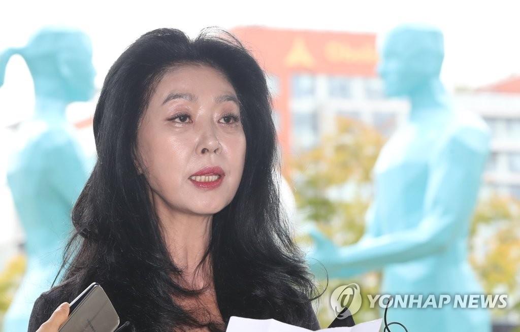 영화배우 김부선 (사진=연합뉴스)