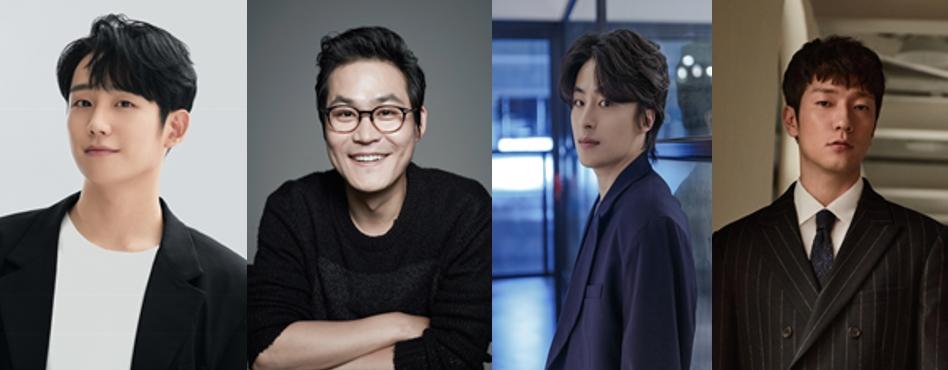 `D.P.`에 출연예정인 정해인, 김성균, 구교환, 손석구