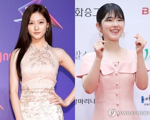 배우 김새론(왼쪽), 박혜수 (사진=연합뉴스)