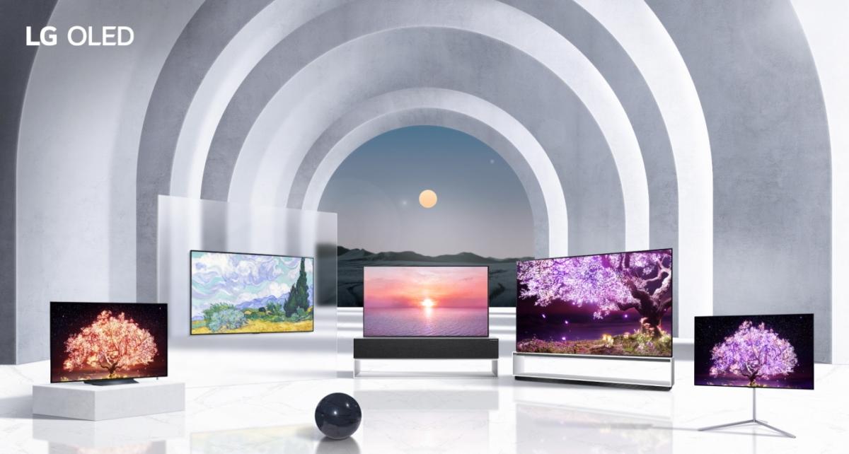 2021 LG 올레드 TV 라인업