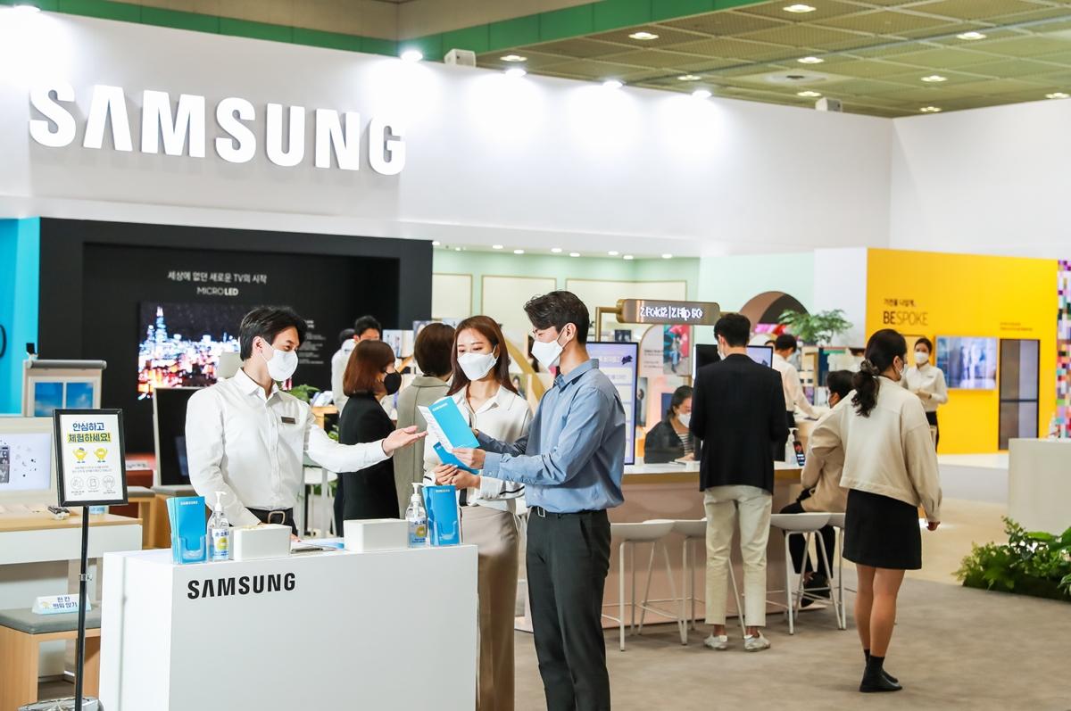 삼성전자가 21일부터 23일까지 서울 코엑스(COEX)에서 열리는 '월드 IT쇼 2021'에 참가해 보다 나은 일상을 선보인다.