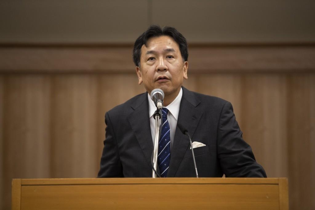 (에다노 유키오 일본 입헌민주당 대표 / 출처 = IAG)