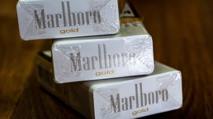 필립모리스인터내셔널 `말보로` 담배 (출처 : CNBC)
