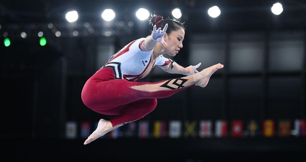독일 체조 선수 김 부이(Kim Bui) (출처 : 블룸버그통신)