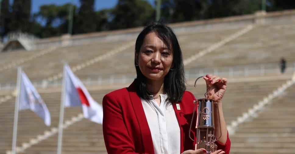 1996년 애틀랜타 올림픽 출천 일본 수영 선수이자 유니세프 일원 이모토 나오코(Naoko Imoto) (출처 : 일본 올림픽 홈페이지)
